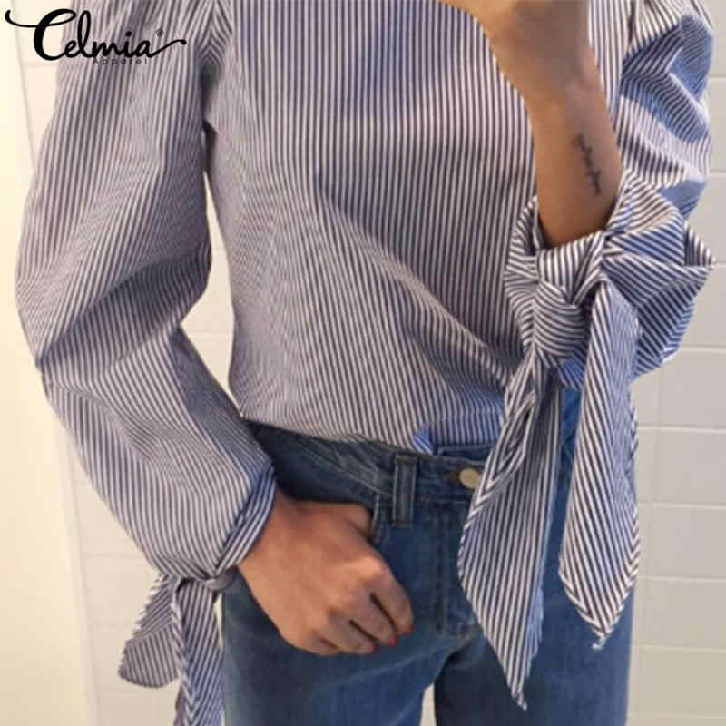02185458c Blusas de mujeres bordado Floral blusa hombro 2019 primavera otoño camisa  de manga larga mujeres Camisas Femininas de Mujer Tops