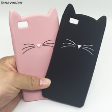 Innovation Capa For Huawei P8 P9 Lite Case Cute Cartoon Cat 3D Silicone Soft Back Cover Funda For Huawei P8 Lite 2017 Phone Case phone cases for huawei p9 lite 3d cute cartoon plants cactus soft silicone back cover capa for huawei ascend p9 p9lite fundas