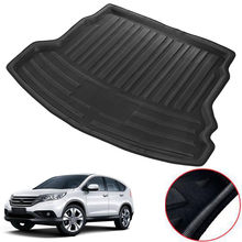 Car Rear Trunk Boot Cargo Liner Mat Cover Floor Tray Protector Pad Fit For  Honda CRV CR V 2012 2013 2014 2015 2016 Accessories