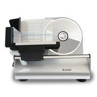 Komle Mutton Meat Slicer Household Electric Small Commercial Stainless Steel Manual Frozen Beef Meat Cutter