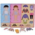 Rompecabezas para niños juguetes rompecabezas de madera Niñas 3d juguetes educativos para niños enfant jouet oyuncak juguete educativo montessori