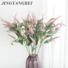 7 cabeças de galhos de flores artificiais, decoração de flores falsas, decoração de casa, jardim, casamento, flores, para casa, hotel e festas, decoração