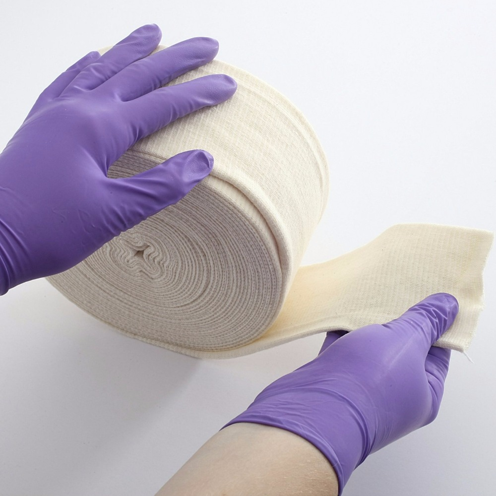 Tubular Stretch Bandage Medical Cotton Cover Plaster Liner Direct Contact With The Skin Mainly For Bandages And Plywood Lining