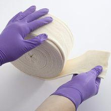 Bandagem médica de algodão stretch tubular, forro para gesso, contato direto com a pele, principalmente para ataduras e forro de madeira de placa