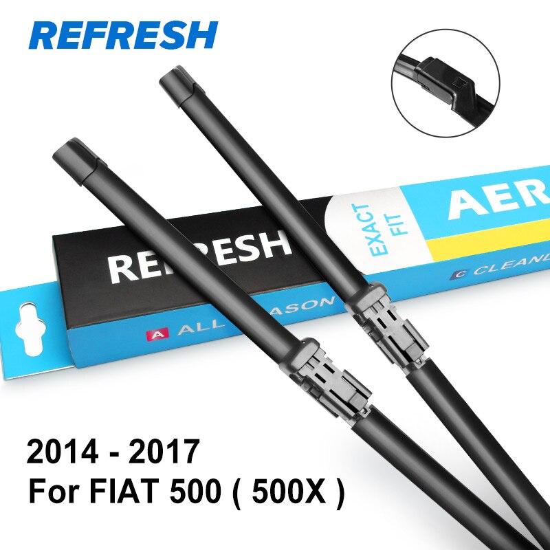 REFRESH Щетки стеклоочистителя для моделей FIAT 500 / 500C / 500L / 500X подходят для моделей с 2007 по год - Цвет: 2014 - 2017 ( 500X )