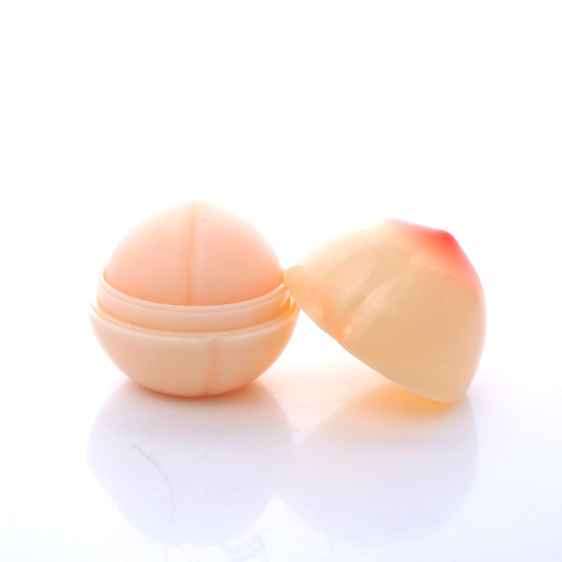 Women Moisturizer Sweet Cute Peach Shape Nutritious Makeup Lip Balm Long Lasting Lipbalm Brand Lipstick  Care Makeup Lip Color 2
