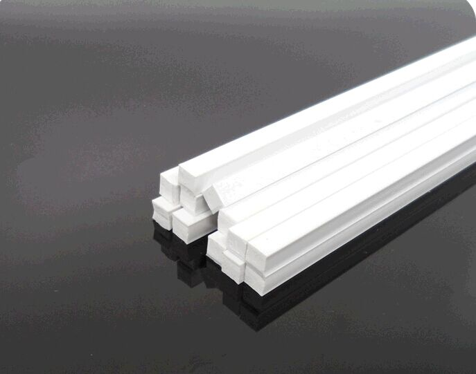 ABS square rod solid square bar solid square bar ABS DIY profile 2/3/4/6MM building model toy material