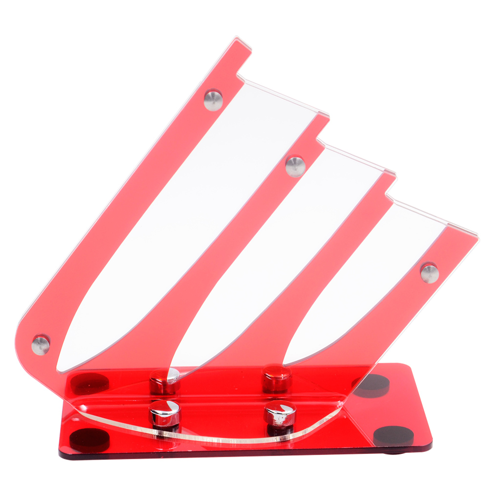 popular universal knife block buy cheap universal knife block lots unique ceramic knife koder red color acrylic universal kitchen knife block for 3 piece knives large