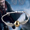 Fashion Trendy Jewelry Chic Free Shipping Movie Harry Bracelet Quidditch Golden Snitch Pocket Bracelets 2 Colors Drop Shipping