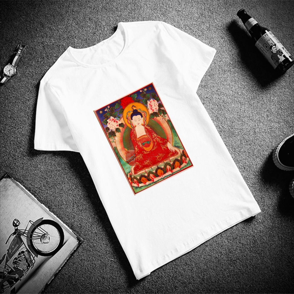 New 100% Cotton Women Tshirt Gothic Skulls Tattoo Art Print Short Sleeve Top & Tee Fashion Casual T Shirt Unisex Brand Clothing