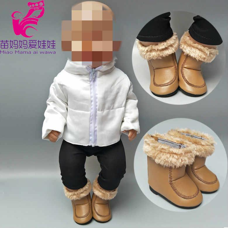 Подходит 43 см, одежда для куклы-младенца, зимний пуховик для девочек 18 дюймов, кукла, пуховик Детская кукла, одежда для игрушек