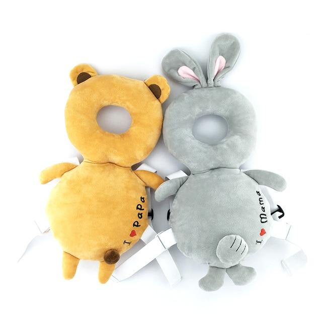 Baby Head Protection Pad infant Anti Crash Pad Cute Nursing Drop Resistance Cushion Baby Room walk Headrest Pillow Free shipping
