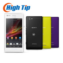 Unlocked Original Sony Xperia M C1905  Mobile Phone Dual Core 3G Android 5MP Camera Internal 4GB Memory Free shippig Refurbished