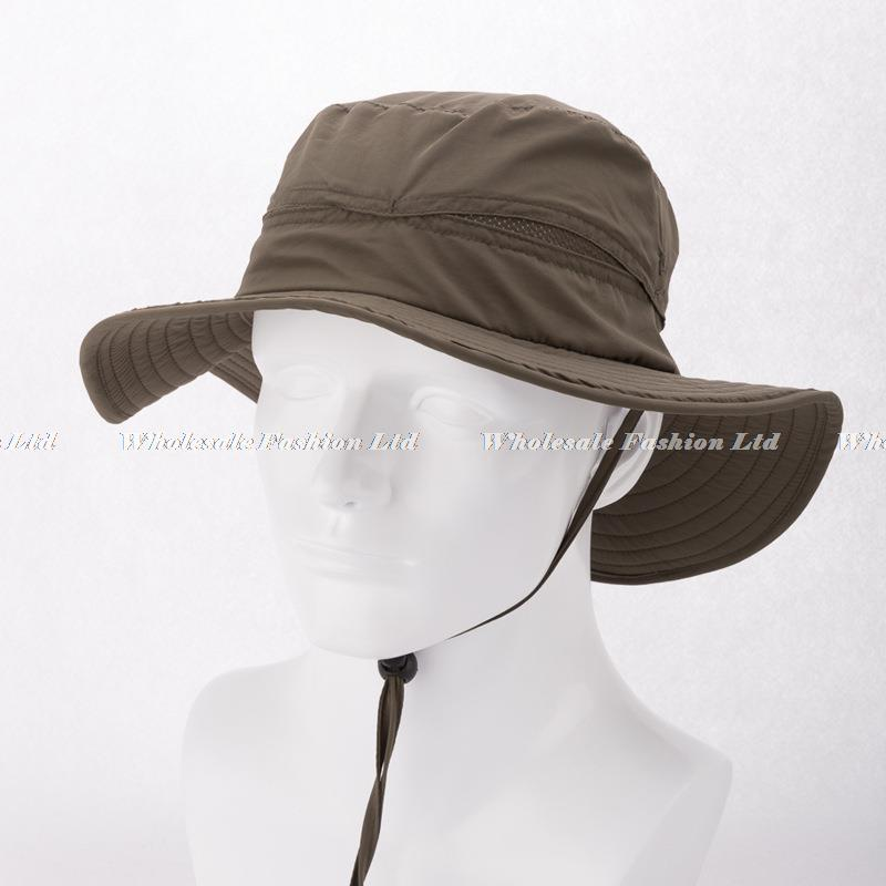 Wholesale Mens Plain Bucket Hats with String For Men Blank ...