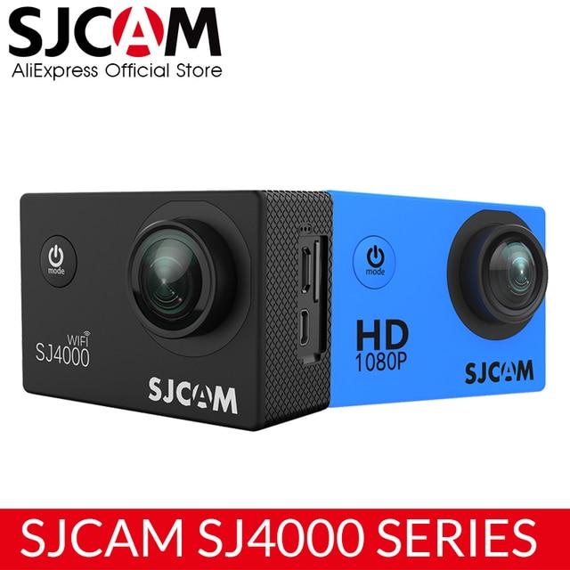 """Оригинальный SJCAM SJ4000 серии 1080 P HD 2,0 """"SJ4000 и SJ4000 WI-FI Действие водонепроницаемая камера Спорт DV Автомобильный регистратор"""