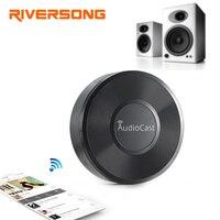 Riversong Drahtlose Wifi Audioempfänger Audiocast M5 Wifi Musik Adapter Ströme Unterstützung Spotify Airplay 2018 Neue Version