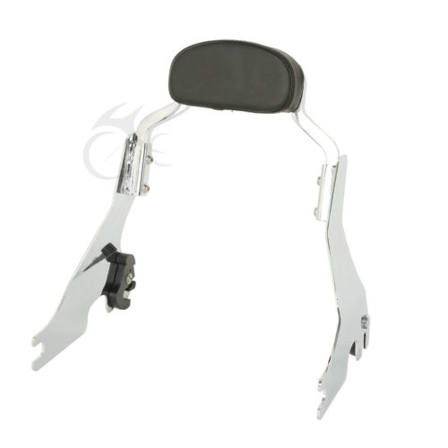 Sissy Bar Short Passenger Backrest Bracket For Harley Sportster Iron 883 XL883 XL1200 2004-2017 16