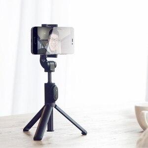 Image 4 - Oryginalny statyw Xiaomi Mini z przyciskiem migawki Bluetooth wysuwany Monopod samowyzwalacza do telefonu komórkowego lub aparatu fotograficznego