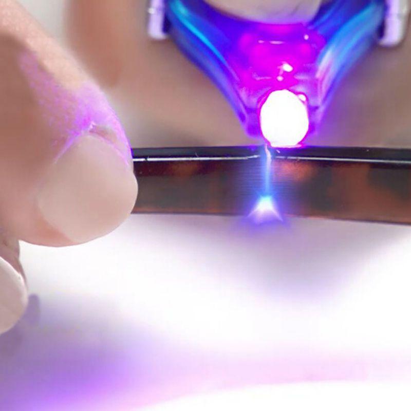 Universal 5 Second Fix UV Light Repair Tool Glue Super Powered Liquid Plastic Welding Compound
