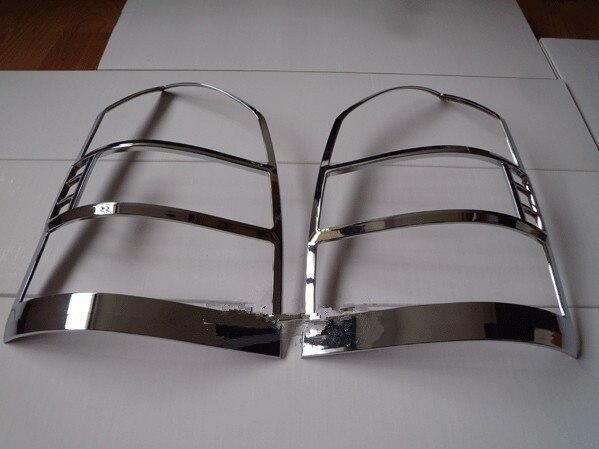 ABS Chrome après couvercle de lampe de phare pour 2005-2009 Hyundai Tucson