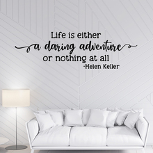 Quote Helen Keller Vinyl Wall Sticker Decor For Living Room Kids Room Decoration Removable Wall Art Decal Srickers Murals цена и фото