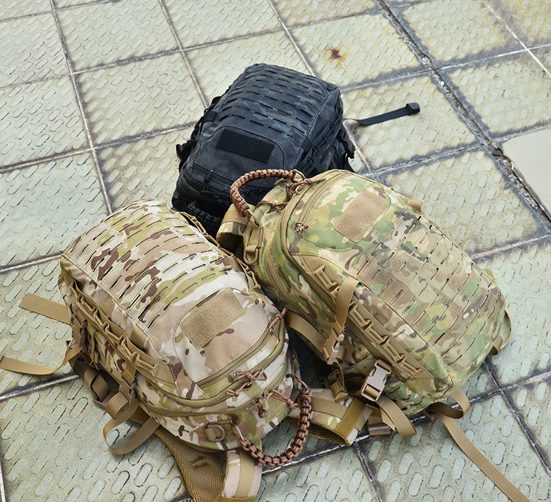 Sac À Dos tactique Laser Cut Molle EPLA Multicam Sac 25L Sport Sac Militaire Sac À Dos Randonnée En Plein Air Sacs EDC Tactique Engrenages