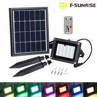 Outdoor Lighting 10W Solar Powered Spotlight 20 LEDs LED Flood Light With Solar Panel Waterproof IP65
