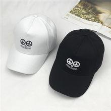 Sombreros mujer calle coreana carta sombrero de béisbol hombres y mujeres  sol sombrero Joker tiempo libre protector solar Hip Ho. 885d34eaad9