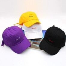 Новая хлопковая бейсболка, Повседневная бейсболка шапка с вышивкой, шапка унисекс, головные уборы для мужчин и женщин, модная Регулируемая Кепка