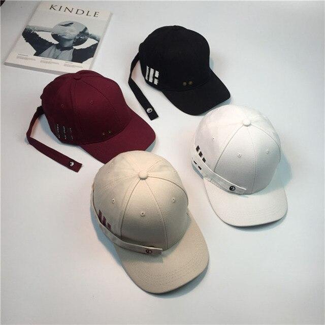 Men women long strap caps cotton boy girl Hats Extra Long Back Strap  Snapback Hat Ball 32efcc5c071