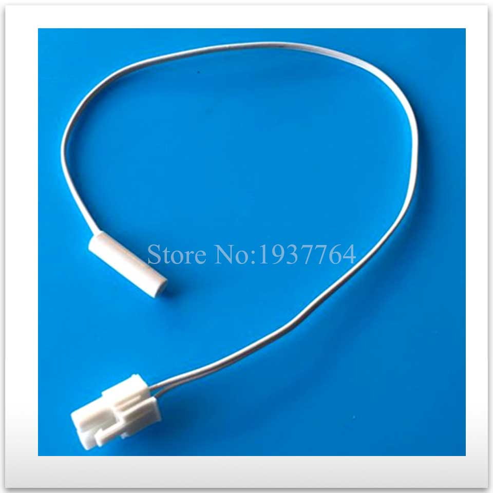 2pcs new for Samsung frost free refrigerator parts 5k defrost sensor probe temperature BCD-191FNS/BCD-230FTNG original new for haier frost free refrigerator parts defrost sensor probe temperature bcd 518ws 00606150125