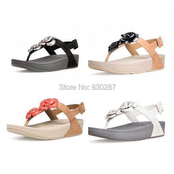 wholesale women flip flops floretta sandals wedges sale brand cheap slides  with back strap Black 4f373e7032b1