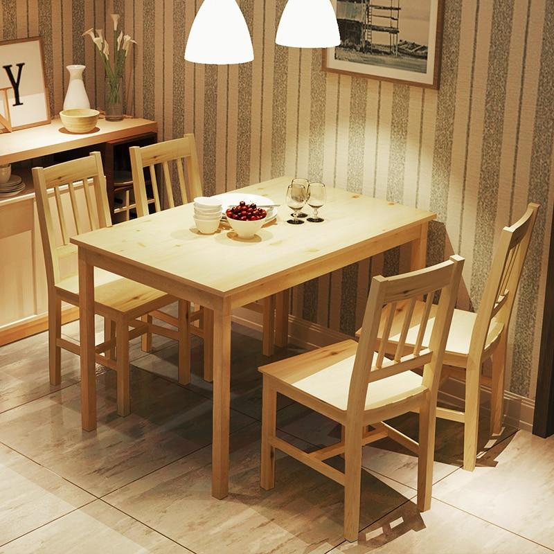 Apartemen Kecil Modern Minimalis Meja Kayu Samping Makan Gi Panjang Ikea Kombinasi Rumah Di Dari Furniture Aliexpress