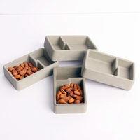 Cement storage box silica gel mold concrete tray mold jewelry box furnishing mold