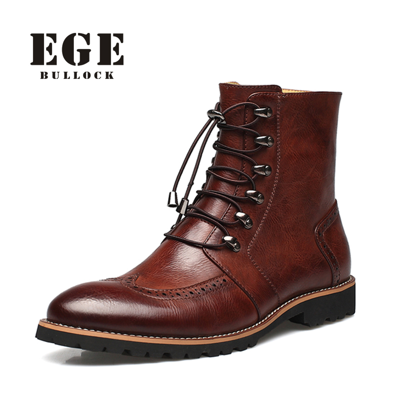 Online Get Cheap Mens Leather Fashion Boots -Aliexpress.com ...