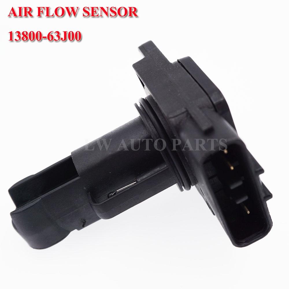 MASS AIR FLOW Sensor For LEXUS MAZDA MITSUBISHI SUZUKI TOYOTA VOLVO 22204-21010