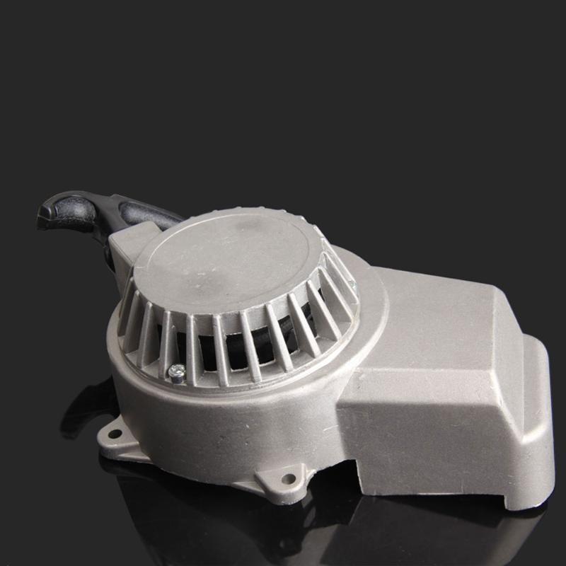 Motor Aluminium Pull Starter Starten Mini Pocket-Bikes ATVs Quad 49cc Mäher Engines Für Motorrad Pull Starter
