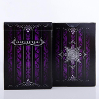 1set Purple Artifice Premium Ellusionist Deck Bicycle Playing Cards Magic Trick Props Poker Deck 83079