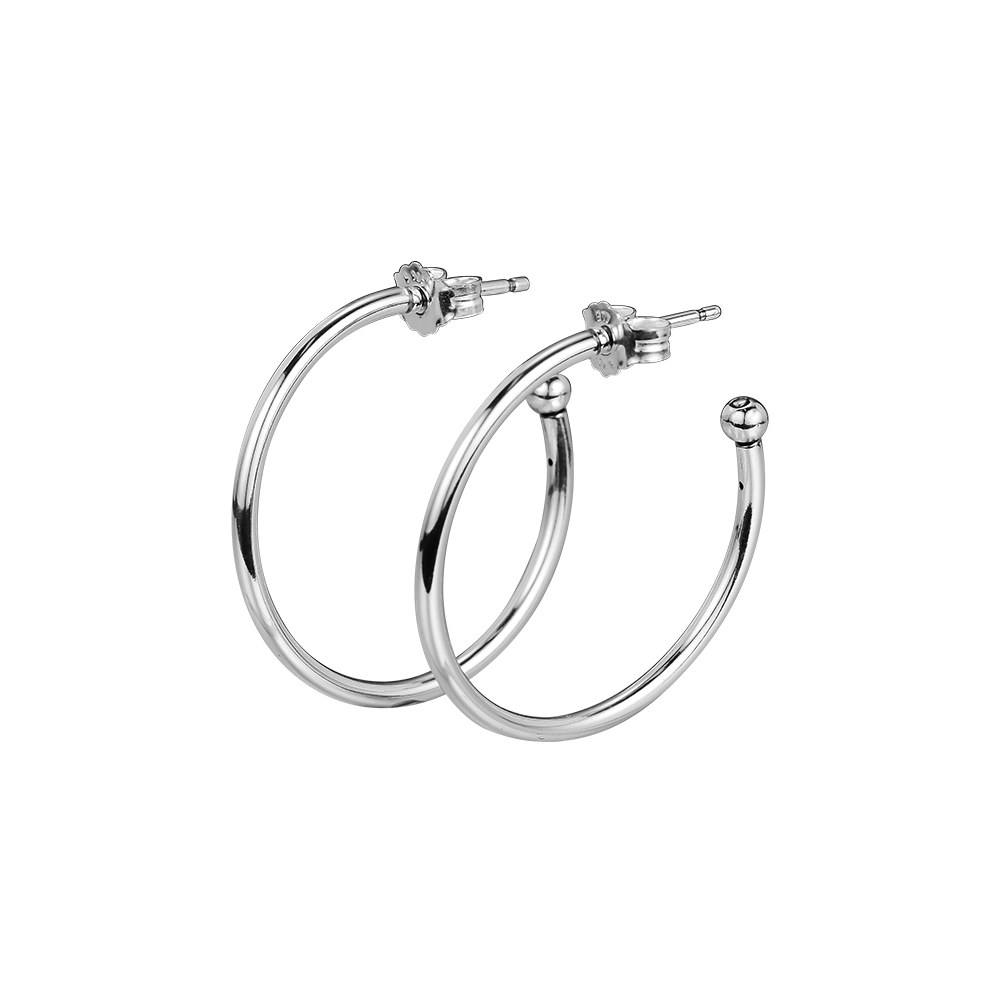 Earring S Versatility Hoop Earrings Sterling-Silver-Jewelry 100% for Women Brincos Oorbellen PendientesEarring S Versatility Hoop Earrings Sterling-Silver-Jewelry 100% for Women Brincos Oorbellen Pendientes