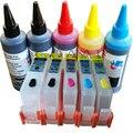 Многоразовые чернильные картриджи для HP 364 kit + 500 мл краситель чернила для HP Photosmart 5510 5520 6510 6520 7510 e-All-in-One