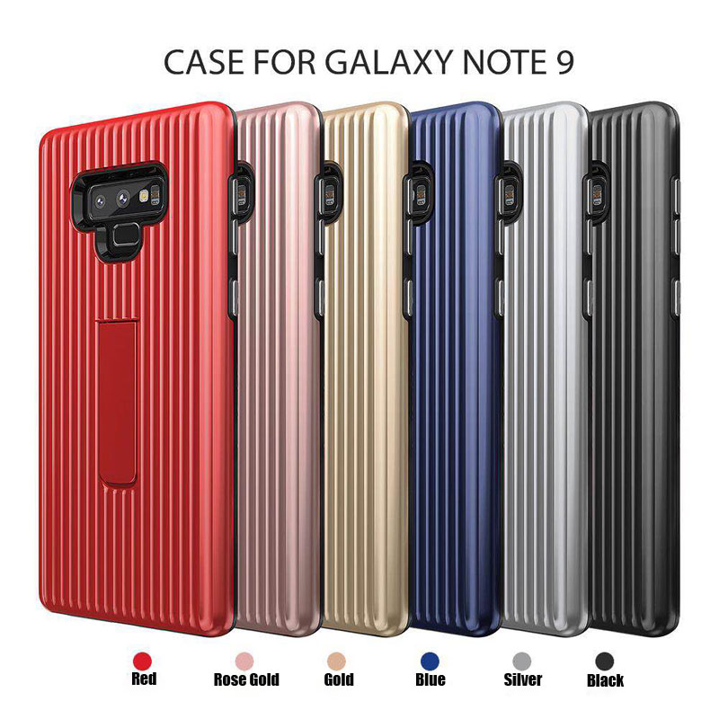Stand Protective Cover For Samsung Galaxy Note 9 Case Magnetic TPU+PC Shockproof Back Cover For Samsung Note9 Note 9 Coque Note8