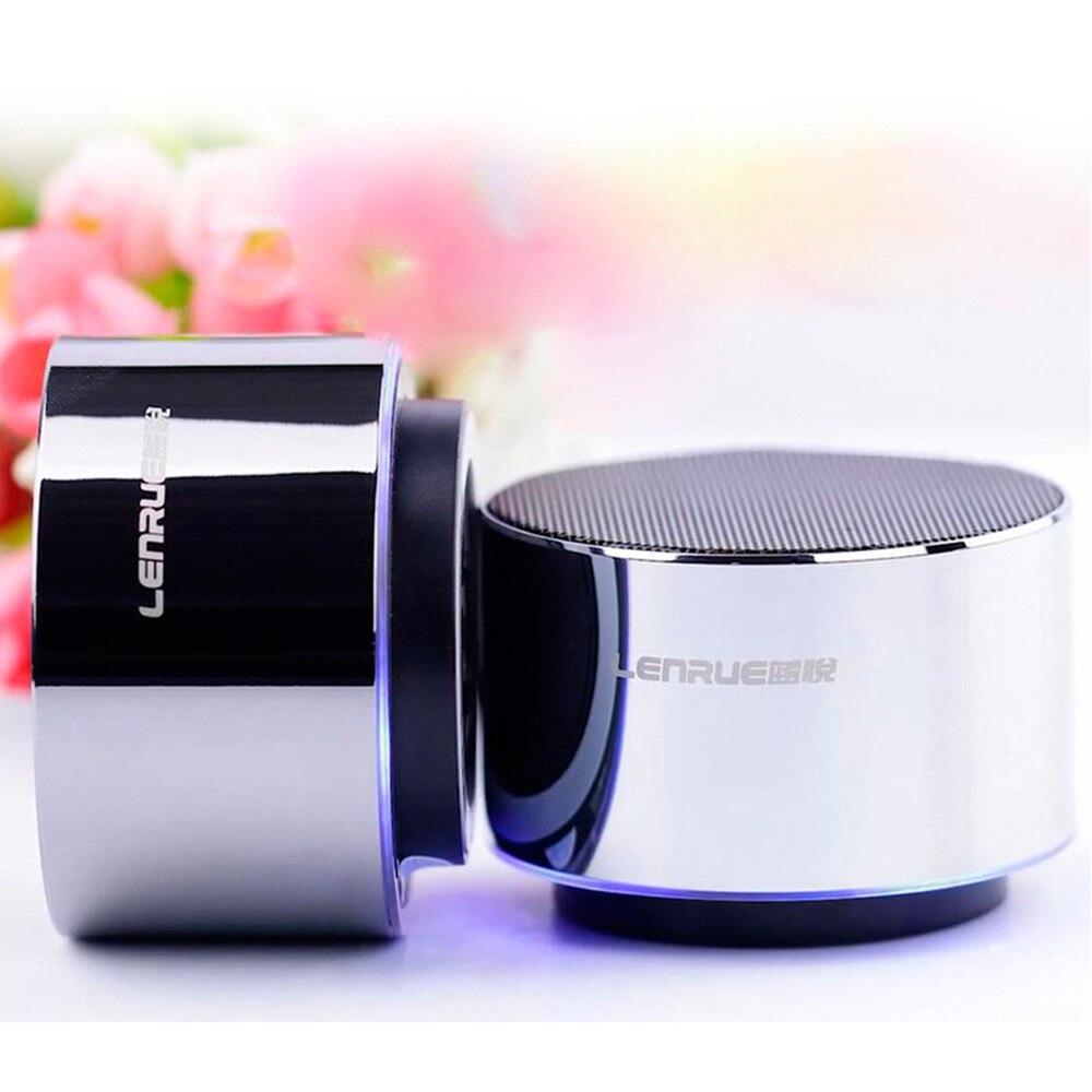 Mini Metal Vibration Bluetooth Speaker Wireless portable column box spiker Stereo Super Bass Sound Loudspeaker Home Theater