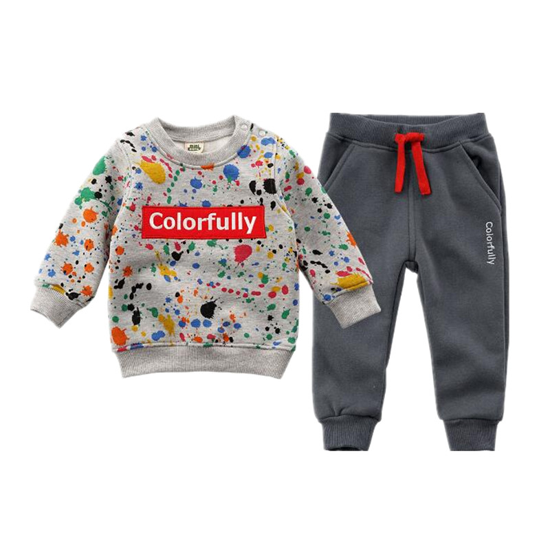 New 2018 spring fashion children clothing sets baby boy clothes 18M -6T sport costumes 12 colours  Girls Clothes for kids wear girls boys halloween costumes surgeon sets doctor cosplay stage wear clothing children kids party clothes free drop shipping new