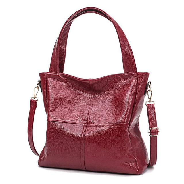 New 2017 Fashion Top Quality  Women Leather Handbag Patchwork Shoulder Bag Famous Brand Women Bag Casual Tote Clutch sac  PP-556