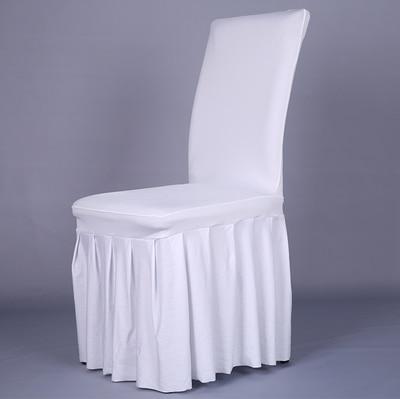 Pločaste suknje od elastične presvlake za stolice navlake za banket - Tekstil za kućanstvo - Foto 2