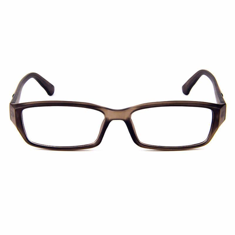 499a70e5e35b ... Simplicity And Handsome Rectangle Plastic Full-Rim Men's Optical Eyeglasses  Frames Men Glasses Frame Translucent ...