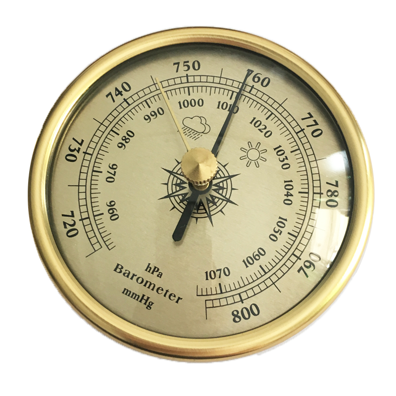 High quality free shipping precision aneroid barometer for Barometer and fishing