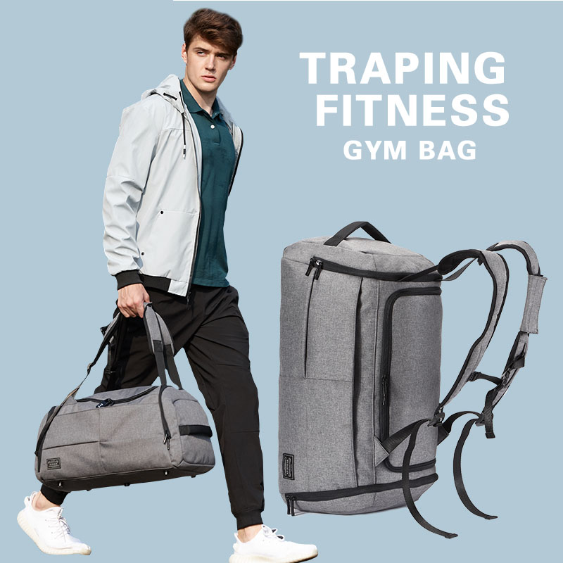 35LTravel bag Gym backpack Sport bag Shoe bag Yoga Training Fitness Packing Outdoor City Tourism Camping