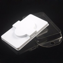 Packing box for eyelash blank eyelashes plastic packaging transparent lid white tray wholesales(100sets/lot)