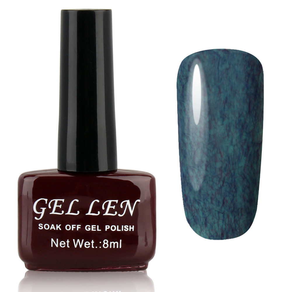 Gel Len FUR Gel Nail Polish 50 Color Soak Off Color Gel